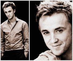 Draco Malfoy lookin good (as always)