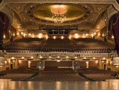 Hippodrome; Baltimore, MD - and early 20th century theatre. I've seen many musicals here. Not as grand as the places you find in Philly and NYC but there is always a show to see and it's very clean.