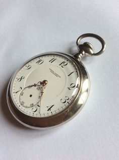 Rare montre gousset invicta pocket watch tachenuhr
