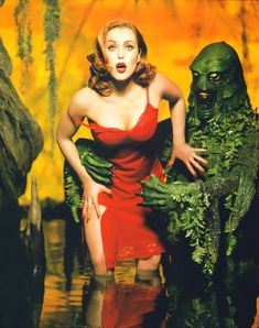 ✿ Gillian Anderson for Rolling Stone Magazine by David LaChapelle  ✿
