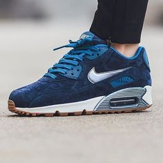 Women's Nike Air Max 90 Prm Suede Brand new with the box but no lid. Nike Shoes Athletic Shoes