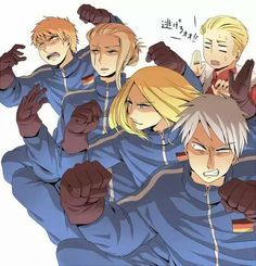 I REMEMBER THIS!! From left to right; Bavaria, Hesse, Saxony, Prussia and Germany