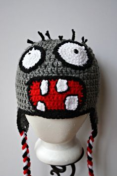 Check out this item in my Etsy shop https://www.etsy.com/listing/266388709/crochet-plants-vs-zombies-inspired