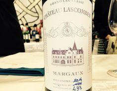 .@VINEXPO: #ChateauLascombes 2014, #Margaux Deuxiémes Cru di bella energia aromatica e fine progressione gustativa