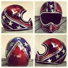 This helmet would make me wanna ride extra crazy:)