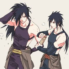 WOW! Hashirama and Tobirama got really lucky. They have the cutest, and hottest boyfriends ever.