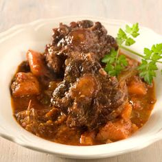Mock Oxtail (Slow Cooker) - with ostrich neck