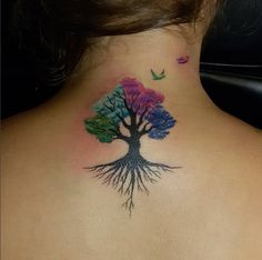 amazing tree tattoo #ink #youqueen #girly #tattoos