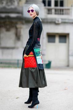 Street Style Paris / Photo: Imaxtree