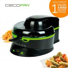 FRITEUSE MULTIFONCTION SANS HUILE CECOFRY