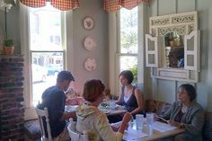 Charming Atmosphere for Cozy Dining at Red House Café - Pacific Grove -See more at www.redhousecafe.com