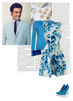 """""""My Date With: Beau Mirchoff"""" by class-in-the-corner-office ❤ liked on Polyvore featuring Vero Moda, Karen Millen, Hermès and Sergio Rossi"""