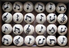 music note cake designs | Musical Note Cupcakes - Cupcakes - The Cupcake Blog
