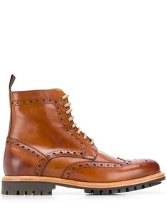 Berwick Shoes Cuero Lavato Boots In Brown Leather Chelsea Boots, Brown Leather Boots, Brown Boots, Berwick Shoes, Mens Suit Colors, Cuban Heel Boots, Worker Boots, Big Men Fashion, Fashion Boots