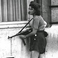FRENCH 18 YR OLD  GIRL RISSITENCE 1944