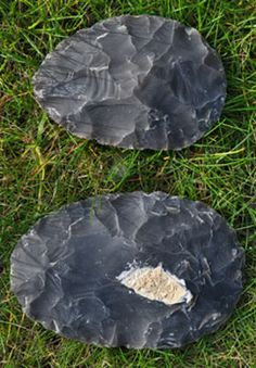 Ovate handaxes were made particularly famous in Britain after the discovery of the middle Pleistocene butchery site at Boxgrove near Chichester, the site dated to 500,000 BP but an ovate handaxe from Happisburgh dated as far back as 700,000 BP! The ovate handaxe represents some of the earliest complex tool manufacture in the world as it is a step above the earlier core and flake culture of the Olduwan.