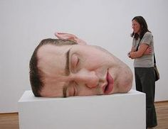 Ron Mueck: Scale and Proportion | Principle of Design / Proportion ...