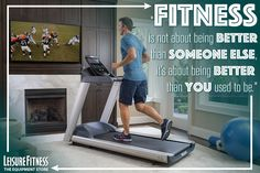 Fitness - Compete with yourself