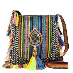Big Buddha Negril Crossbody Bag | shoemall | free shipping! #bohemian ☮k☮ #boho #bohéme