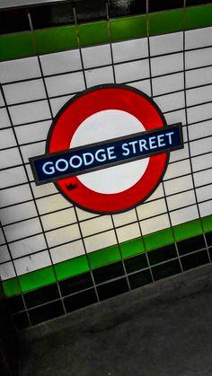 Stop of Subway 🚇 #MyPics #london