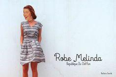Robe Melinda république du chiffon, très belle version !