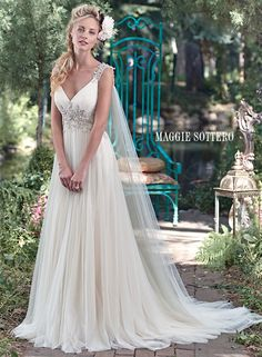 Large View of the Kalisti Bridal Gown! She could be my next wife, but only if she loves the Lord more than I do! Len R. Holliday