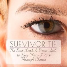 Breast cancer survivor, Mina Greenfield, shares her best tips and advice for keeping your lashes and brows during chemotherapy.