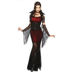 Disfraz de vampiresa,disfraz  Halloween, mujer vampiro
