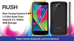 ¡Conserve las hermosas memorias que cuentan, con la mejorada cámara primaria de 8MP de Unnecto Rush!