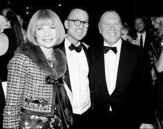 Anna Wintour, Steven Kolb, & Michael Kors @ the CFDA Awards #CFDA2013