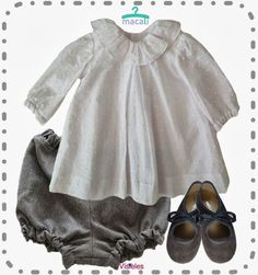 Macali Visteles Little Fashion, Cute Fashion, Girl Fashion, Heirloom Sewing, Frocks, Smocking, Girl Outfits, Couture, Chic