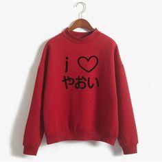 Yaoi Women Hoodies Sweatshirts Moletom BL manga anime Sweatshirt Women Cotton Japanese Letter Pullover Fleece NSW-F21588