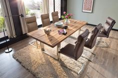 Stół CASTILO lity dąb - sklep meblowy Conference Room, Dining Table, Rustic, Furniture, Home Decor, Products, Country Primitive, Decoration Home, Room Decor