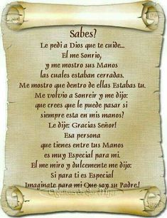 FELIZ CUMPLE VALENTINO! !!!!!!! Faith Quotes, Bible Quotes, Spanish Inspirational Quotes, Spanish Prayers, Beautiful Prayers, Healing Words, Love Phrases, Catholic Prayers, God Prayer