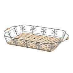 PYREX® 3-qt Snowflake Basket - Shop World Kitchen $4.99