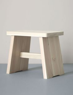 Hinoki Bathroom Stool | everyday needs