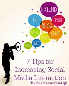 Social Media Tips #Blogging #Tips #SocialMedia