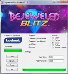 Hack For You Game: Bejeweled Blitz Hack