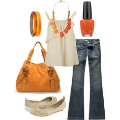pumpkin pie, created by htotheb on Polyvore