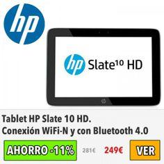 Tablet HP Slate 10 HD. #ofertas #descuentos
