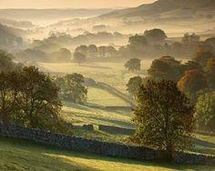 Morning Mist, Littondale, Yorkshire Dales