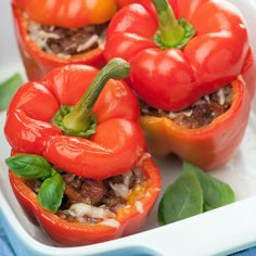 Vegetarian Quinoa Stuffed Bell Peppers | Town And Country Market
