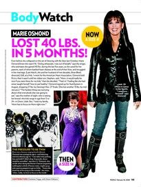 Marie Osmond Lost 40 Lbs. in 5 Months!