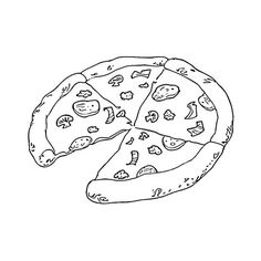 Tasty Pizza From Italy coloring page from Italy category. Select from 24652 printable crafts of cartoons, nature, animals, Bible and many more. Pizza Coloring Page, Food Coloring Pages, Pokemon Coloring Pages, Cartoon Coloring Pages, Free Printable Coloring Pages, Free Coloring, Coloring Pages For Kids, Coloring Books, Cute Pizza