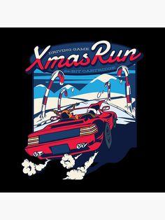 Gaming, Xmas, Graphic Design, Running, Poster, Videogames, Christmas, Keep Running, Navidad