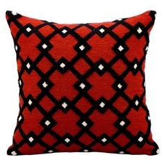 kathy ireland by Nourison Diamond Pattern Accent Pillow // Accent Pillow