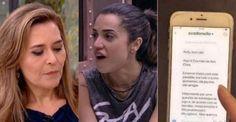 BBB 18: Mãe de Paula expõe conversa com Eva, da família Lima