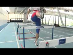 How To Train For Hurdles - YouTube Running Training Plan, Running Drills, Running Race, Running Tips, Running Quotes, Track And Field Events, Running In The Heat, Strength And Conditioning Workouts, Indoor Track