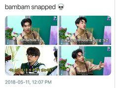 Ha ha why so savige Bam Bam?! XD #BamBam #got7
