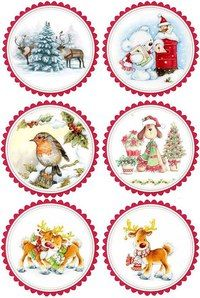 carterie pergamano et tableaux - Page 7 Christmas Decoupage, Christmas Paper Crafts, Holiday Crafts, Christmas Decorations, Christmas Topper, Christmas Tag, Vintage Christmas, Christmas Ornaments, Christmas Gift Tags Printable